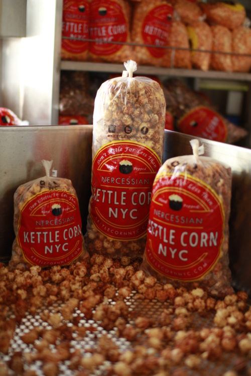 The robust flavor of our spicy cajun bbq kettle corn